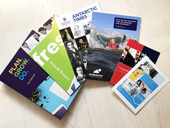Increase the likelihood of someone picking up your brochure with these essential key elements